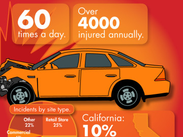 Infographic: Surprising Car Strike Stats
